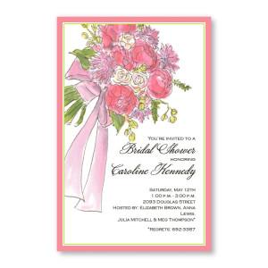 Bridal Bouquet Invitations