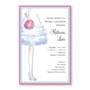 Bride's Legs Invitations
