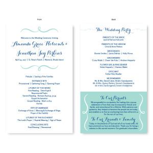 Embrace Wedding Program