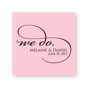 "We Do 2 1/2"" Square Sticker"