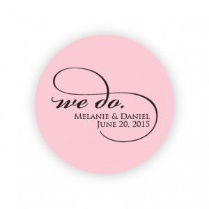 "We Do 2"" Round Sticker"