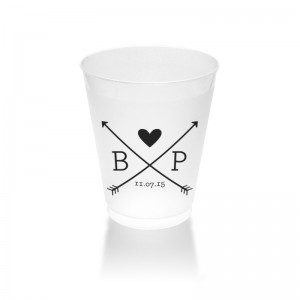 10 oz Frosted Plastic Tumblers