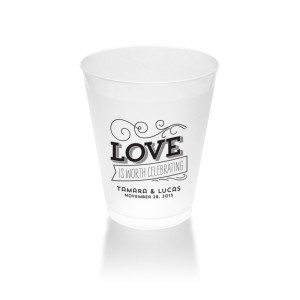10 Ounce Frosted Plastic Tumblers