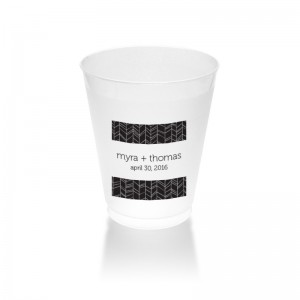 10 Ounce Frosted Plastic Tumbler