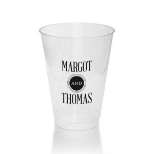 Broadway Marquee 12 Ounce Clear Plastic Tumblers
