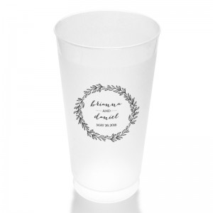 Verdant 16 Ounce Frosted Plastic Tumbler