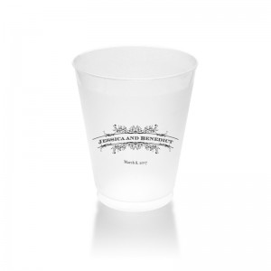 Melanie Clear or Frosted Plastic Tumblers