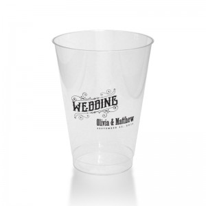 Mara Clear or Frosted Plastic Tumblers