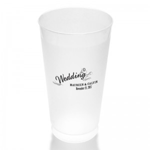 Margo Clear or Frosted Plastic Tumblers