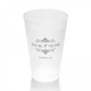 Maggie Clear or Frosted Plastic Tumblers