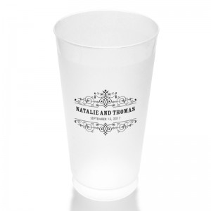 Helena Clear or Frosted Plastic Tumblers