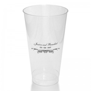 Coraline Clear or Frosted Plastic Tumblers