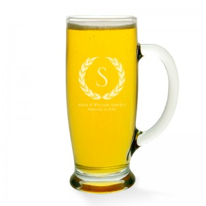 Wreath Beer Mug