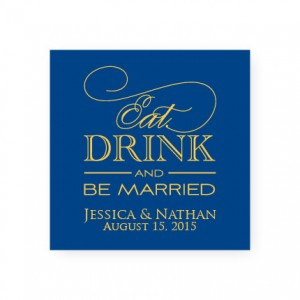 Eat Drink and Be Married Favor Tags