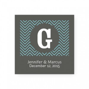 Chevron Favor Tags