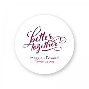 Better Together Round Coasters