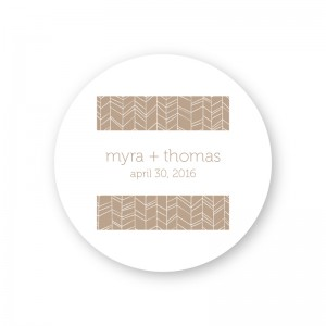Modern Feather Round Coasters