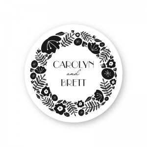 Blossoms Round Coasters