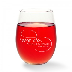 We Do Stemless Wine Glass