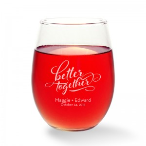 Better Together Stemless Wine Glass