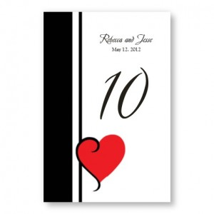 My Heart's Desire Table Cards