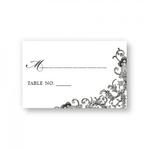 Circled With Love Seating Cards