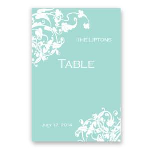 Venetian Romance Table Cards