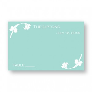 Venetian Romance Seating Cards