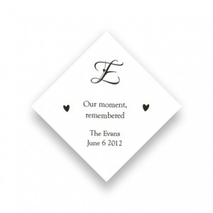 Initial Favor Tags