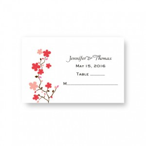Delicate Vines Seating Cards
