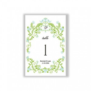 Regal Border Table Cards