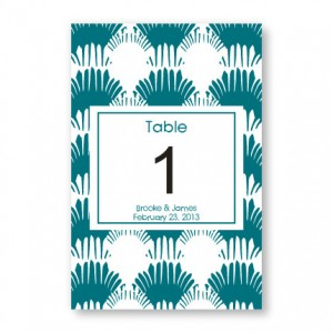 Wedding By the Sea Table Cards