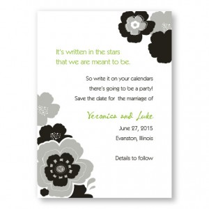 Charisma Save The Date Cards