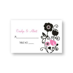 Floral Elegance Seating Cards