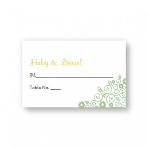 Wedding Bliss Seating Cards