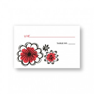 Love in Bloom Seating Cards