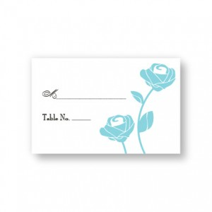 Roses are Forever Seating Cards