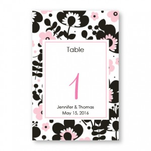 Flower Garden Table Cards