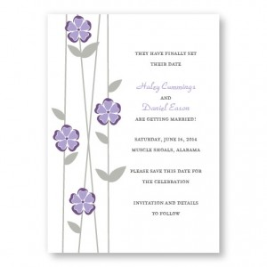 Flirtation Save The Date Cards