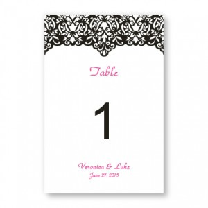 Simply Elegant Table Cards