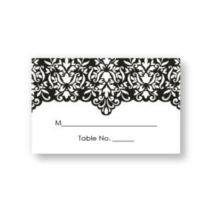 Simply Elegant Seating Cards