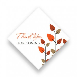 Leaves of Love Favor Tags