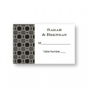 Buckingham Seating Cards
