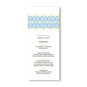 Distinctive Design Menu Cards