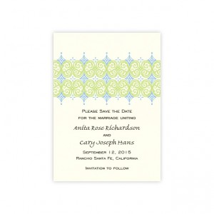 Distinctive Design Save The Date Cards