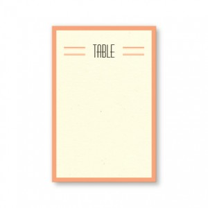 Elle Table Cards