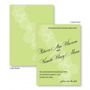 Sadie Save The Date Cards
