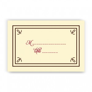 Gretchen Seating Cards