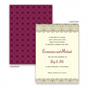 Piper Save The Date Cards