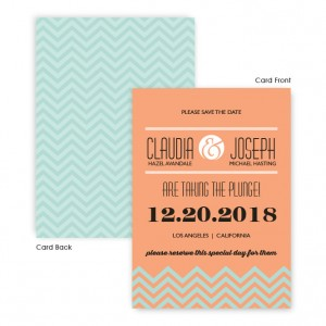 Frances Save The Date Cards
